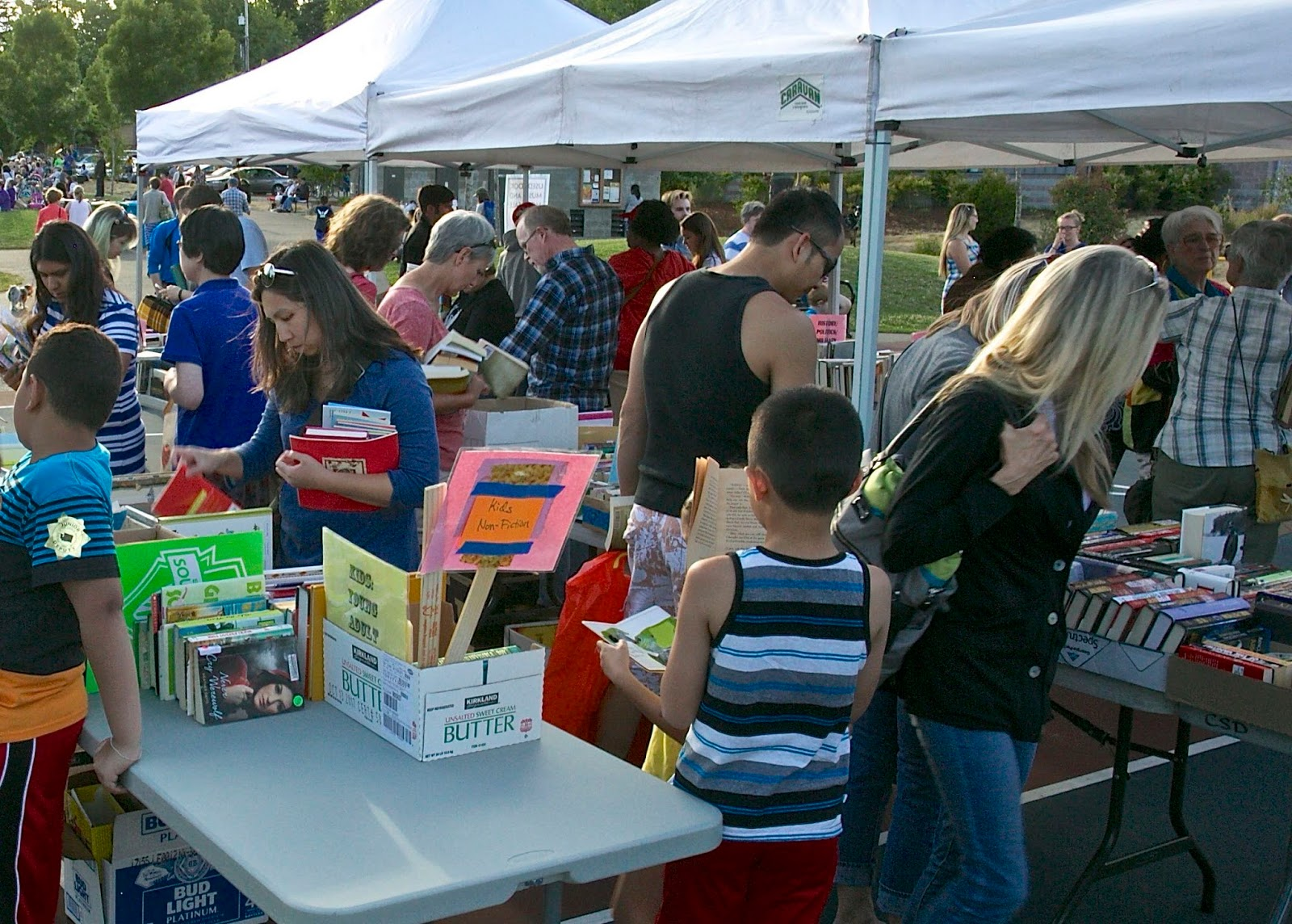 Book Lovers Have Learned To Mark This Event On Their Calendar For The  Council Of Neighborhoods Used Book Sale Always Many Children's Books, And  Readable
