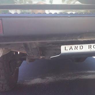 Protecção de Deposito para Land Rover Discovery e Range Rover