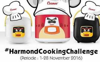 Lomba Foto Masakan Terbaru hadiah 2 Rice Cooker