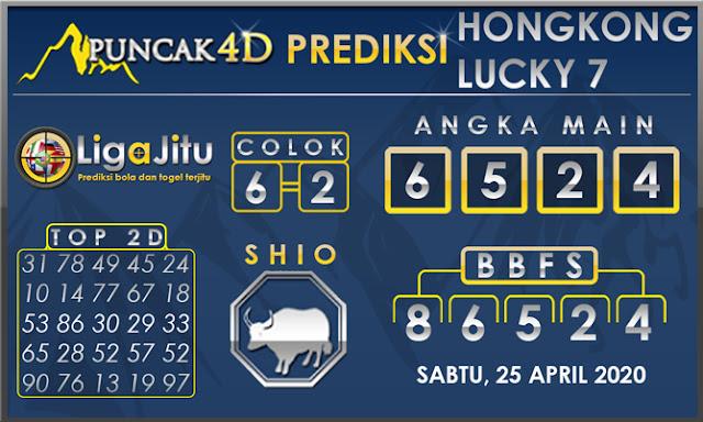PREDIKSI TOGEL HONGKONG LUCKY7 PUNCAK4D 25 APRIL 2020