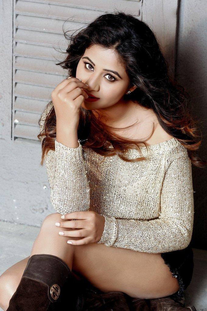 Manali Rathod Hot Photo Shoot From Telugu Movie