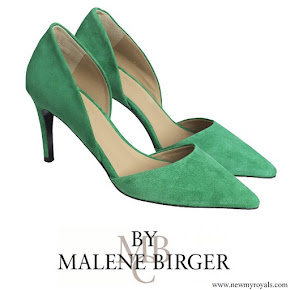 Crown Princess Victoria wore By Malene Birger Paxilow pumps