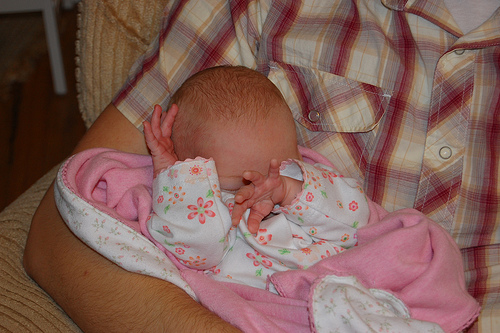 Image: Baby Hands, by Nathan Walker on Flickr