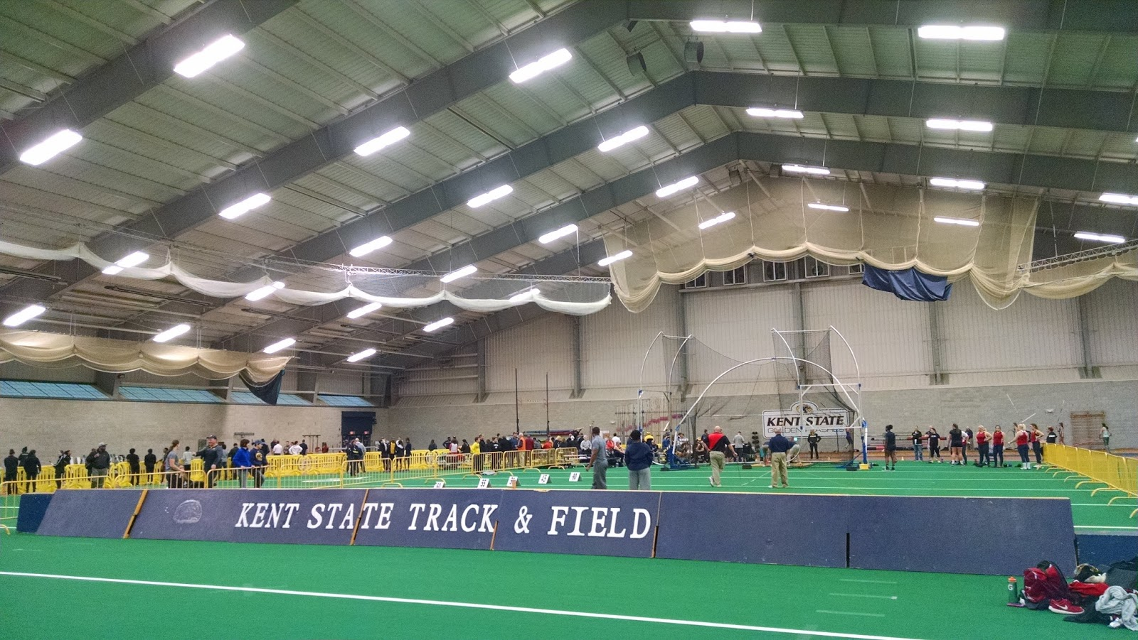 212: Kent State University Field House, Kent, OH | Scolin's Sports Kent State Campus Map Fieldhouse on