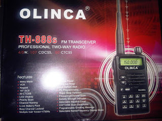 JUAL HT OLINCA TH 888A | HANDY TALKY OLINCA TH-888s