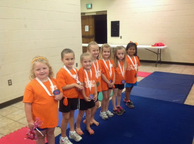 Gymnastics Awards and Pictures
