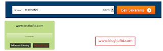 Cek Domain Idwebhost