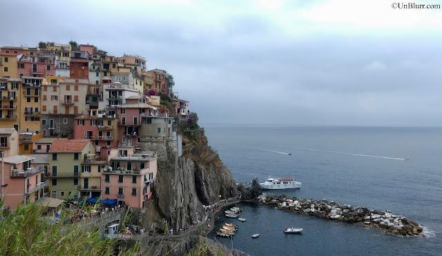 View of Manarola , Cinque Terre, Italy