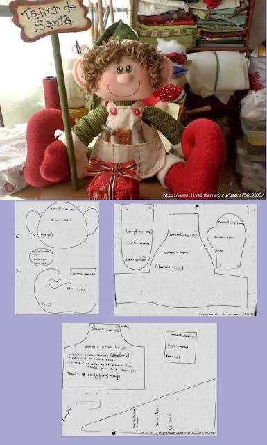 wzory zabawek szmacianych