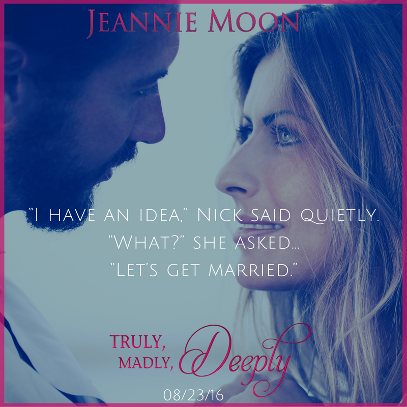 Lisas lovesbooks of course release event giveaway for truly jeannie moon has always been a romantic when shes not spinning tales of her own jeannie works as a school librarian thankful she has a job that allows fandeluxe Gallery