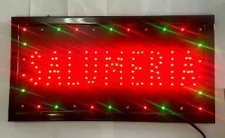 insegna luminose led per negozio