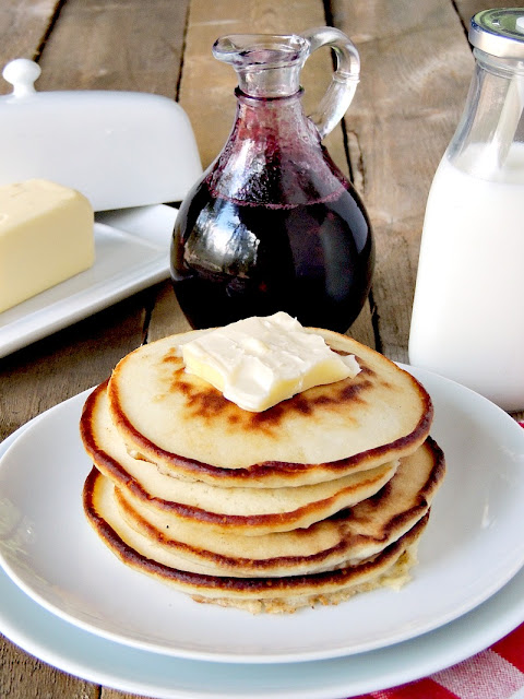 Have a breakfast like Grandma used to make with this homemade blueberry syrup. From www.bobbiskozykitchen.com