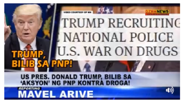 WATCH | US PRES. TRUMP GUSTONG E-HIRE SI GEN. BATO ?