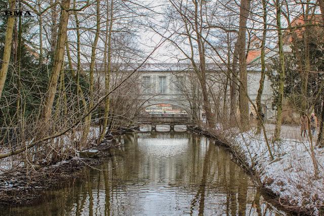schlosspark nymphenburg - wandern in münchen - wanderung in der stadt