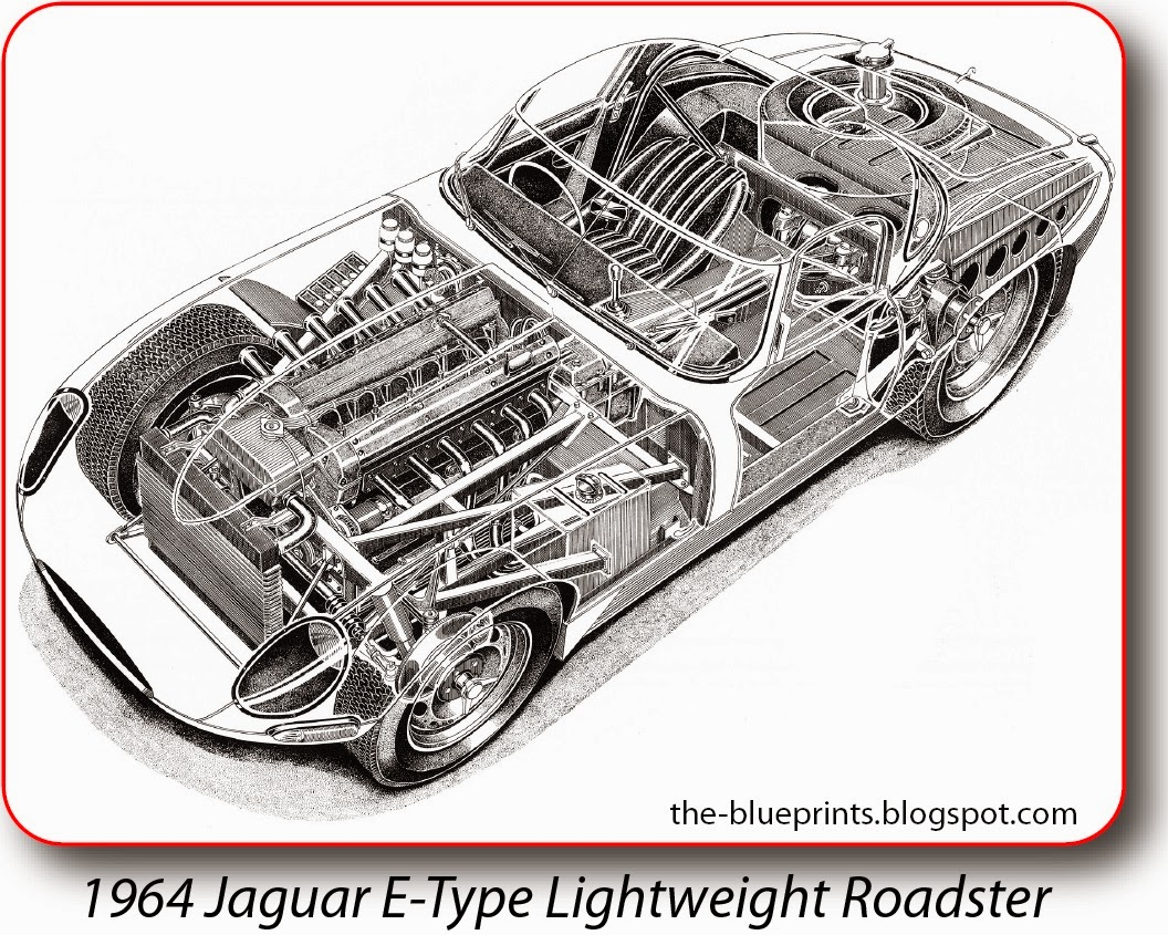 Jaguar Xj13 Blueprint Vector Blueprints Cars Trucks Busses And Others Jaguar