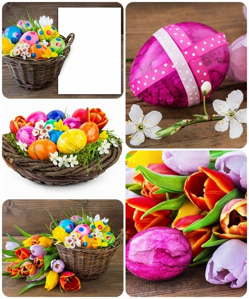 Easter Decoration pack 5 - Stock images