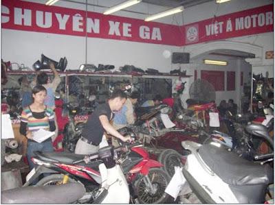 lưu ý khi bảo dưỡng xe máy