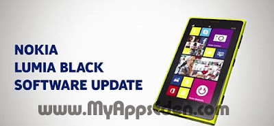 Nokia Lumia Black software update