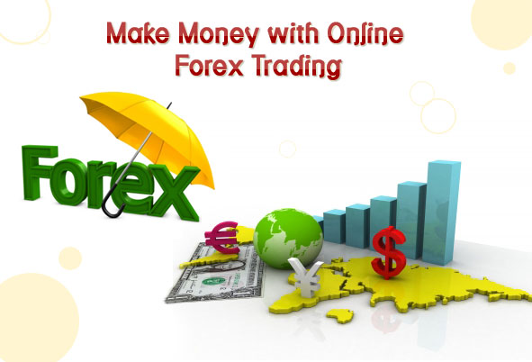 How does forex trading platform work