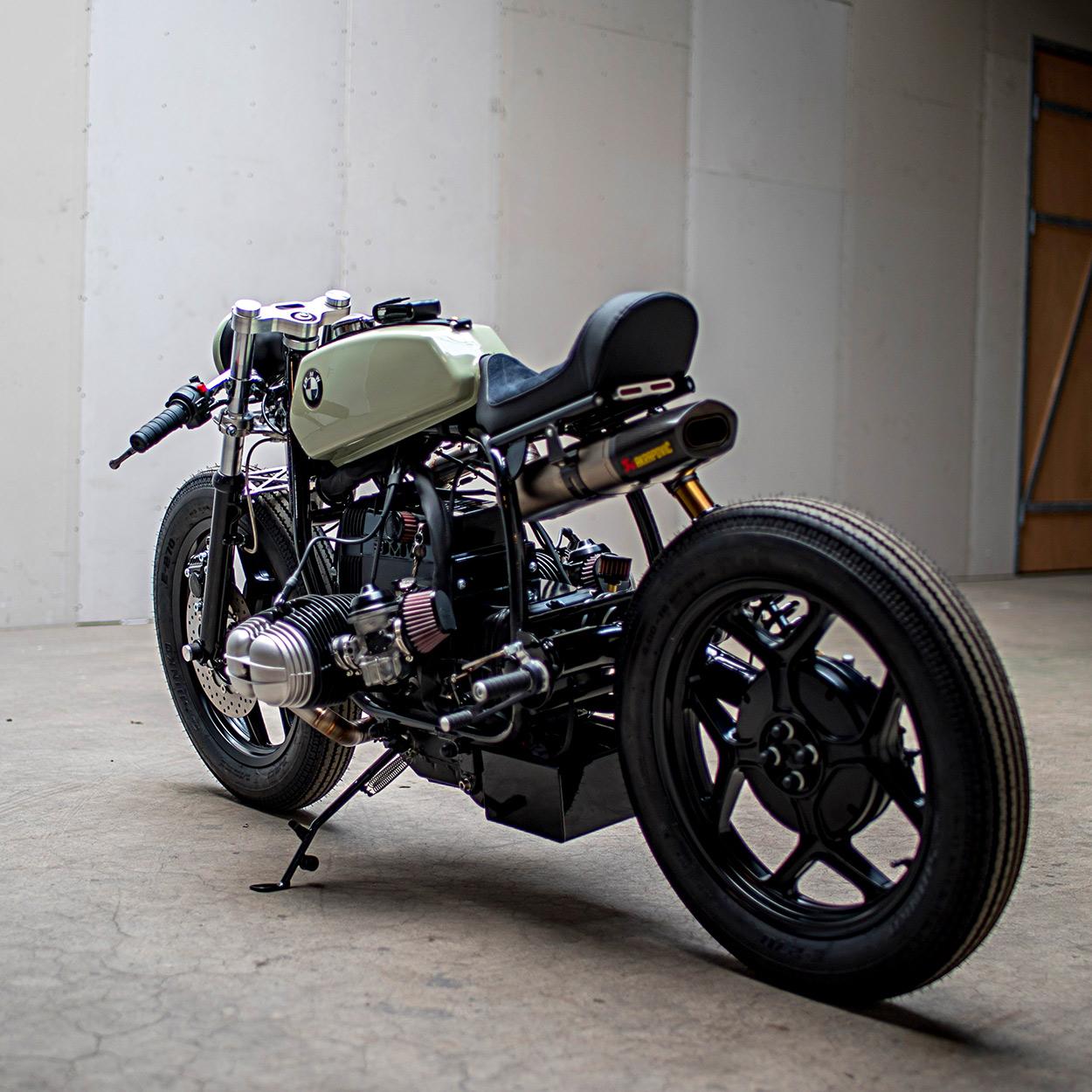 U03df Hell Kustom  U03df  Bmw R80 By Ironwood Custom Motorcycles