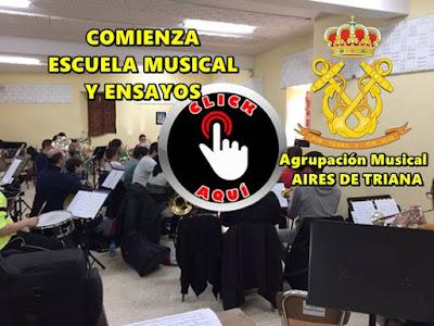 A.M. Aires de Triana confirma inicio de escuela y ensayos en Sevilla