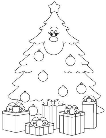 50 Arvores De Natal Para Colorir Espaco Educar