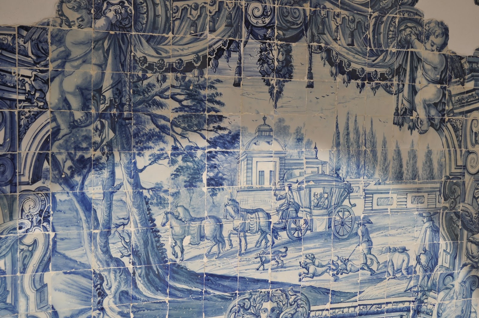 azulejo tiles, 8 Great Discoveries in Lisbon, photo by Modern Bric a Brac