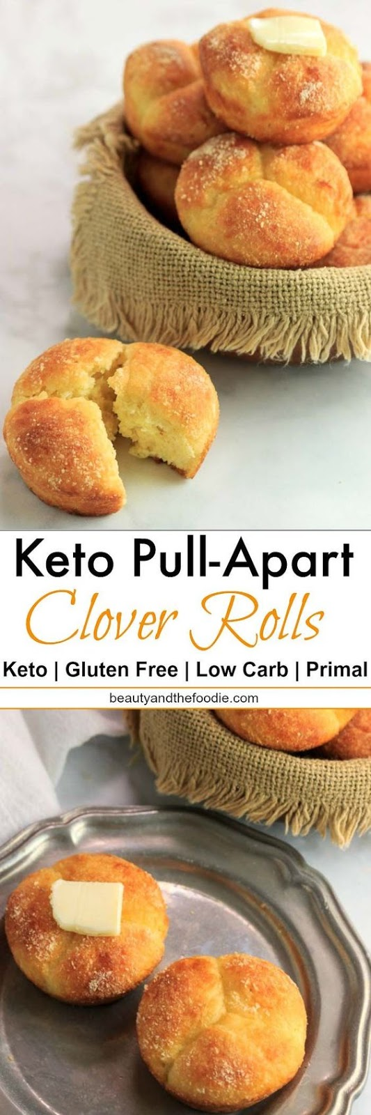 KETO PULL APART CLOVER ROLLS-