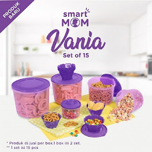 Smart Mom Vania Set of 15