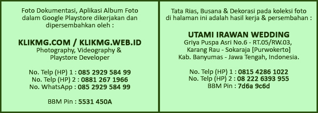 Klikmg Fotografer Wedding Purwokerto