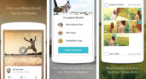 aplikasi membuat video klip android