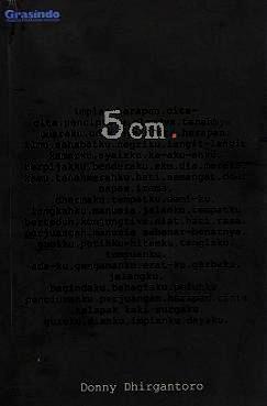 [NOVEL] 5 Cm yang Terlambat