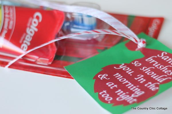 santa brushes gift set