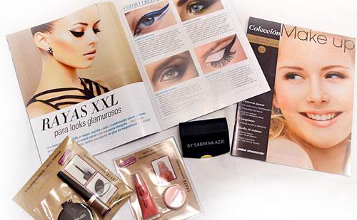 Review : Colección Make Up fasciculos 14 y 15 + regalito de envío: