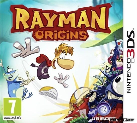 Free Download Rayman Origins 3DS CIA Reg Free