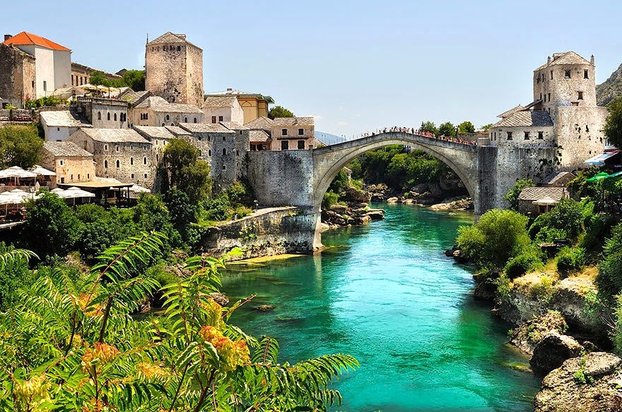 Stari Most, Bosnia And Herzegovina - 20 Mystical Bridges That Will Take You To Another World