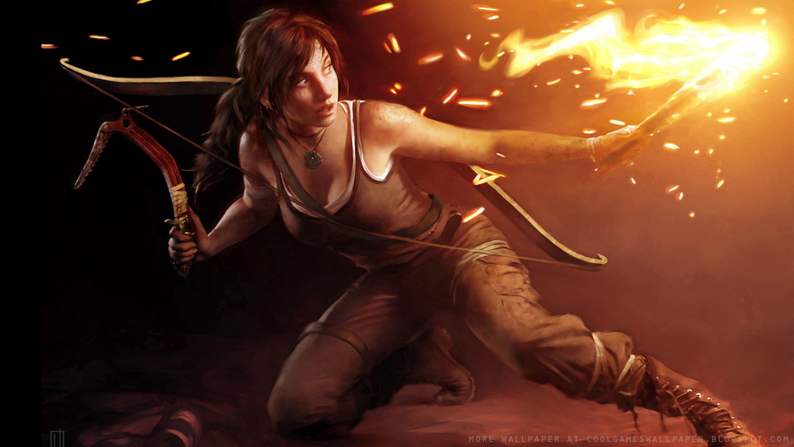 Tomb Raider 2013 Wallpaper: Hairstyles