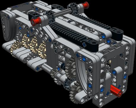 Gearbox 6 speed N+R ~ JaapTechnic