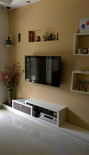 TV Unit with Concealed wiring