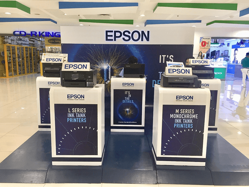 This puts Epson in the top 3 percent of companies for overall sustainability