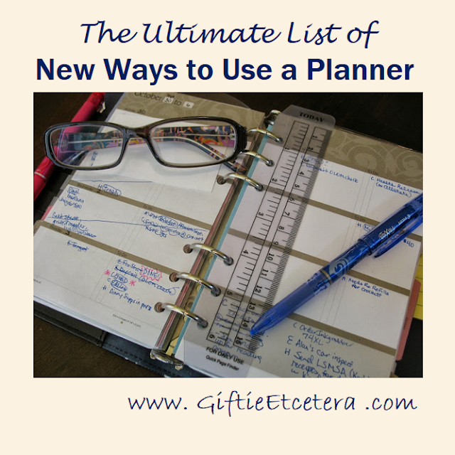 flashback, planner, ring bound planner, notebook, note, organize, weight loss, glasses, ink pen, blue ink pen, page marker