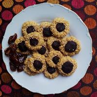 Sušenky s arašídovým máslem a karobem