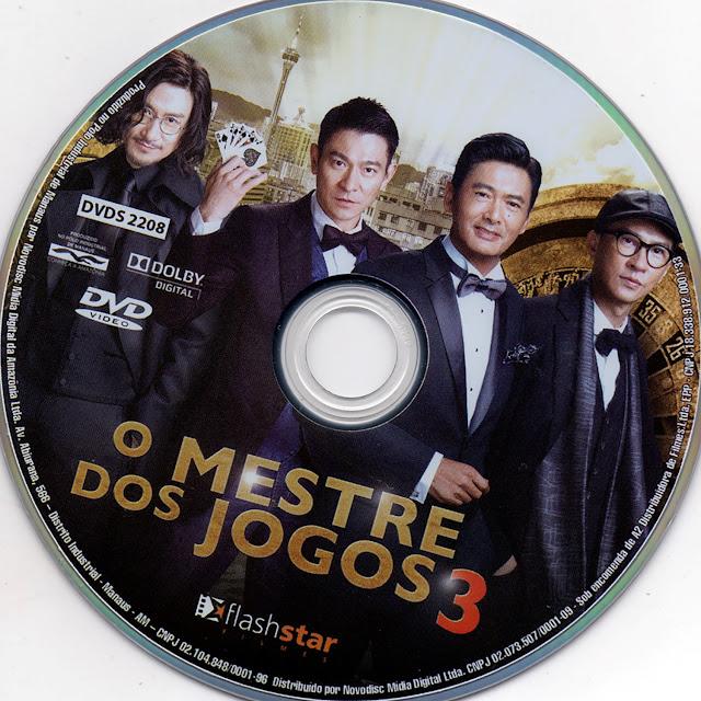 Label DVD O Mestre dos Jogos 3 (Oficial)
