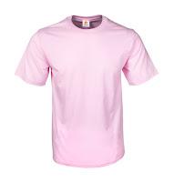 Kaos Polos Eco Soft Light Pink
