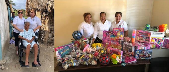 Consulado de Boston dona sillas de ruedas y juguetes en comunidades fronterizas de República Dominicana