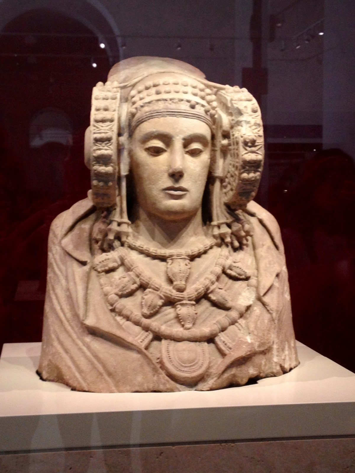 La Dama de Elche - Museo Arqueológico Nacional - MAN - Madrid el troblogdita