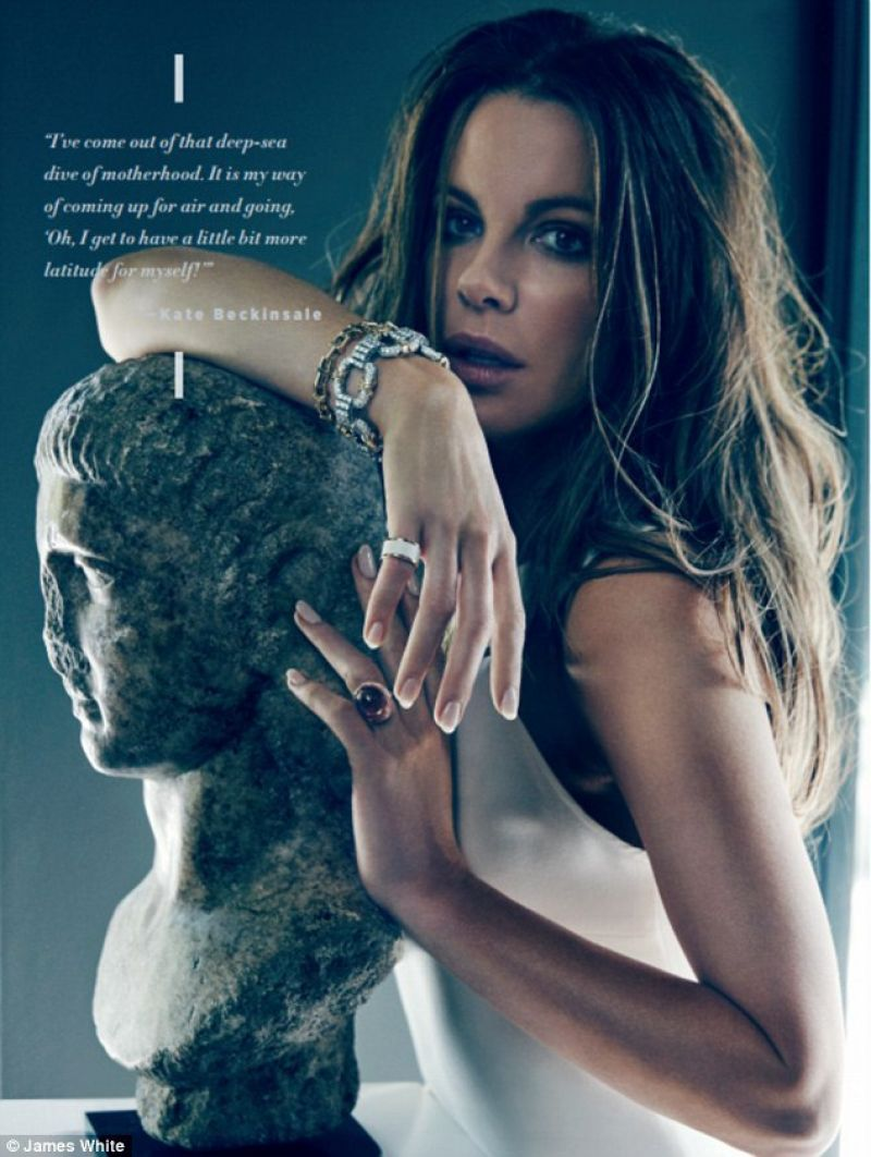 Kate Beckinsale In Los Angeles Confidential Magazine
