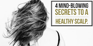 4 mind blowing secrets to healthy scalp by Michele Clarke