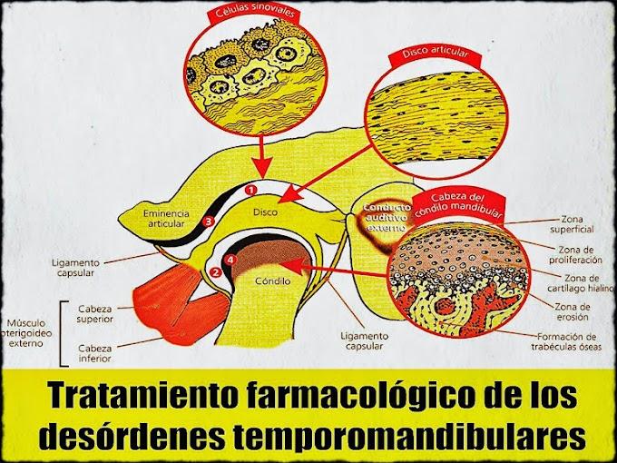 ATM: Tratamiento farmacológico de los desórdenes temporomandibulares