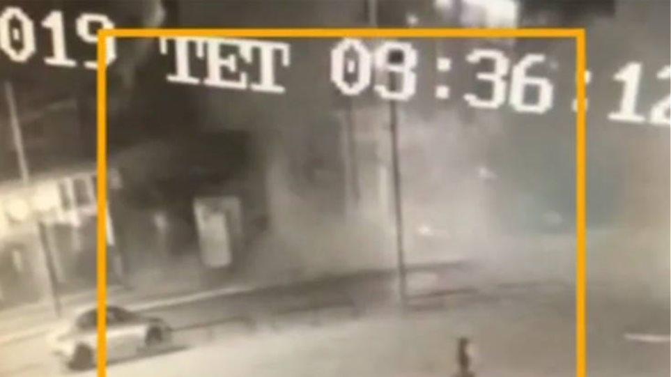 Βίντεο ντοκουμέντο από τη στιγμή της έκρηξης σε νυχτερινό κέντρο στο Γκάζι